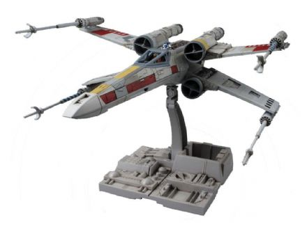 Star Wars Bandai Plastic Model Kit 1/72 X-Wing Starfighter